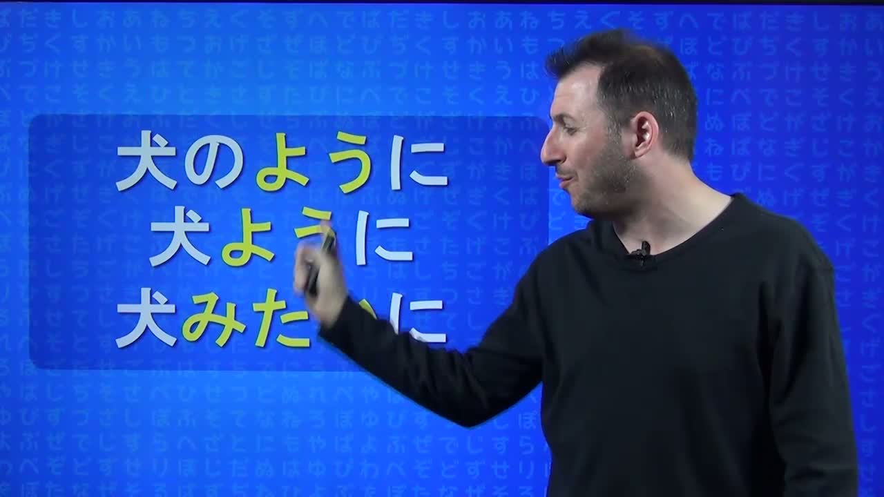 Japanese Daily #136 - Grammar Lesson YOU NI