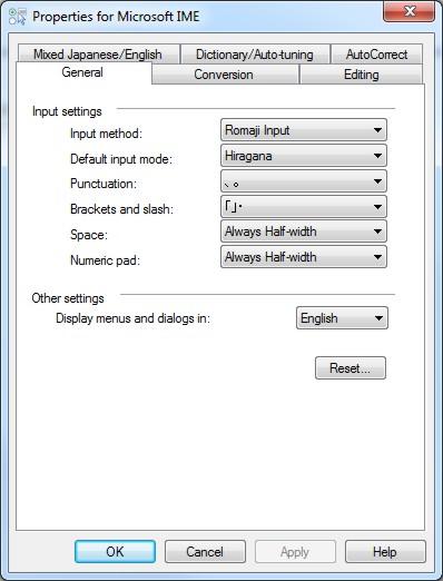 Install Japanese - Windows XP